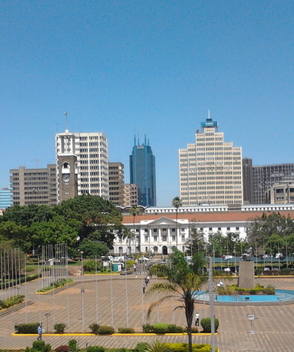 City Hall View from KICC Beads Safaris