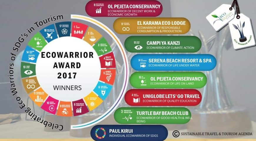 Winners of the 2017 Eco Warrior Award